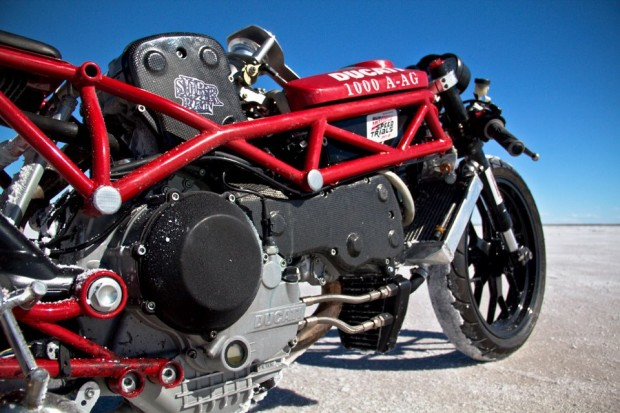 A Ducati salt runner. What could possible go wrong?
