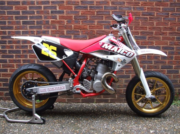 A Maico 700cc two-stroke. Eat shit and die.