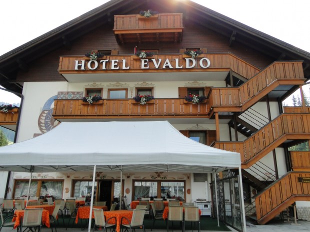 Leaving Arabba in the Dolomites today after 3 nights here