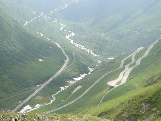 This was later in the day, Furka Pass