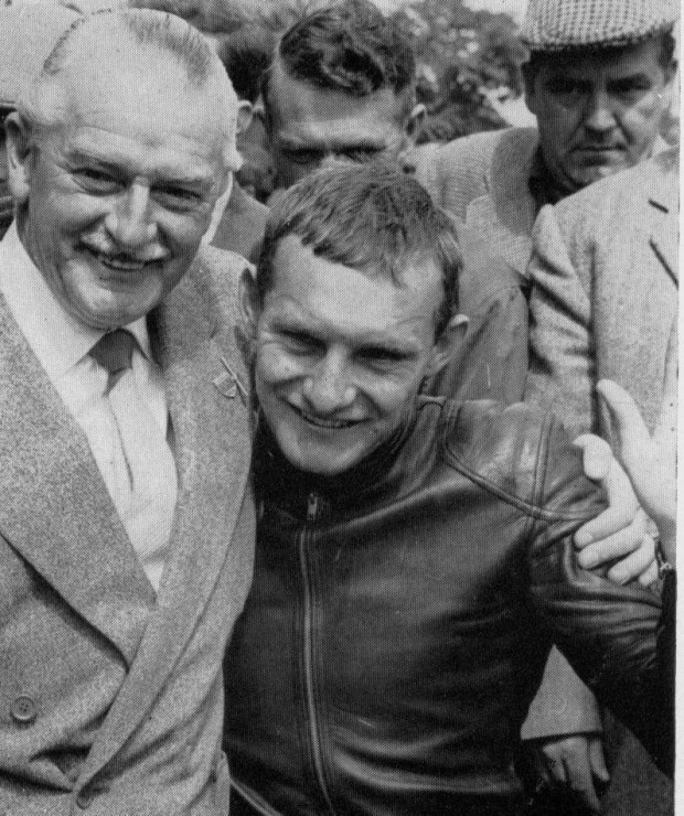 Mike the Bike and Stan the Wallet Hailwood.