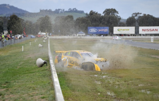 Michael Caruso #36 Norton Hornets Nissan ALTIMA Race 27 Crash 007