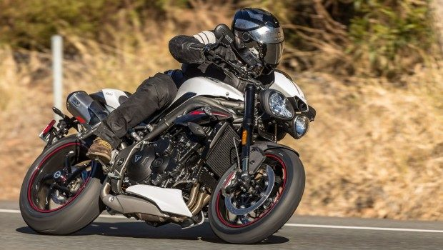 2018 triumph speed triple rs review the guv nor bike me. Black Bedroom Furniture Sets. Home Design Ideas